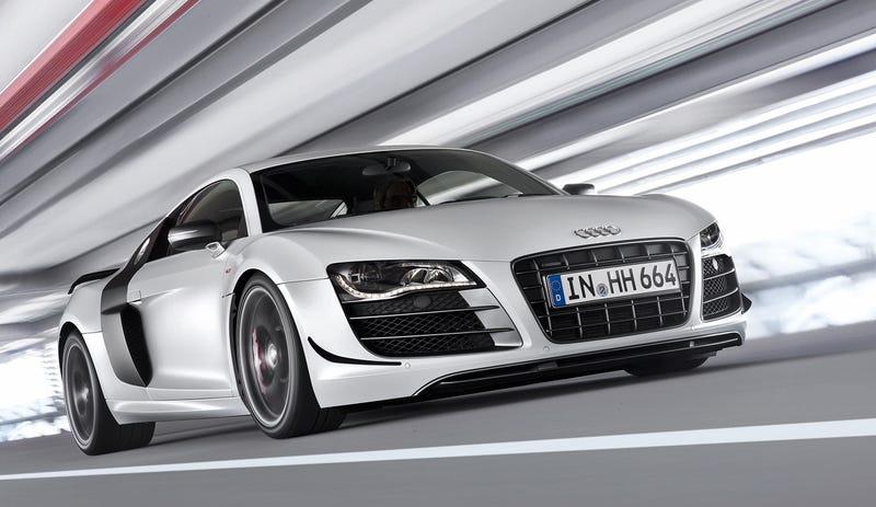 Illustration for article titled Audi R8 GT: Lighter, Faster, Stronger