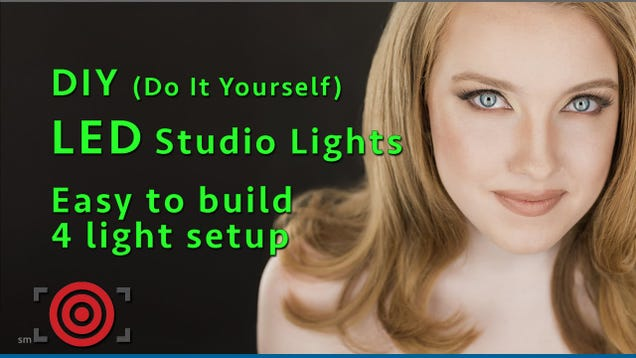Build Your Own Pro Photo Lighting Setup with LED Shop Lights