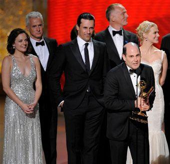 Illustration for article titled Mad Men, 30 Rock Lead Emmy Nominations