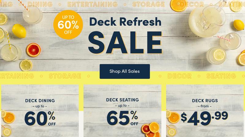 Deck Refresh Sale | Wayfair