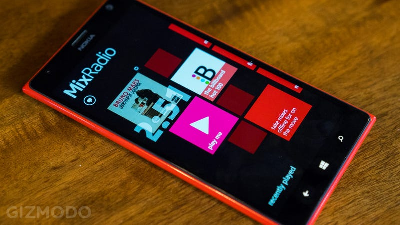 Illustration for article titled ​Nokia MixRadio Is the Easiest Streaming Music Service Yet