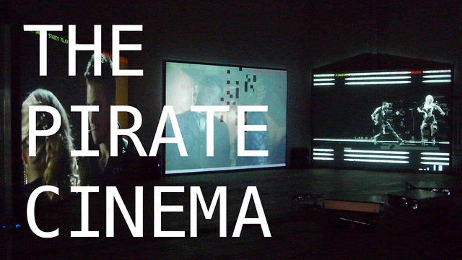 Contempla todas las películas piratas del mundo en tiempo real