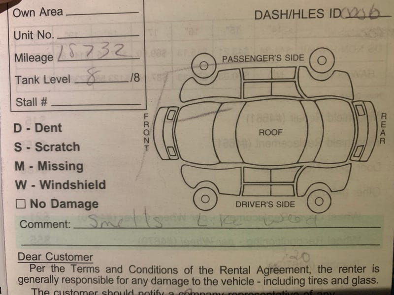 Illustration for article titled Colorado rental cars, amirite?