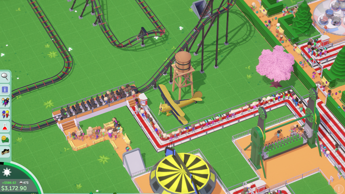 I Accidentally Made A Nightmare Coaster In Parkitect