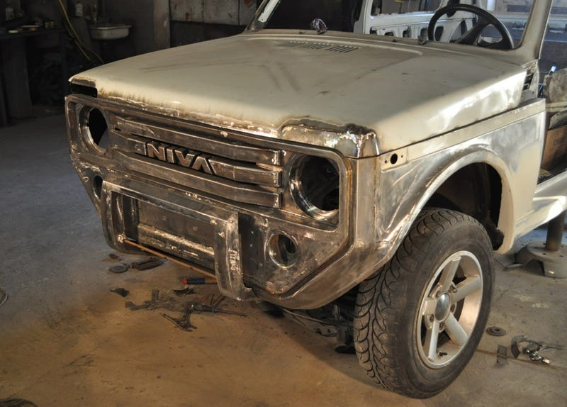 Somebody Wanted A New Ford Bronco So Bad They Made Their Own... Russian Style