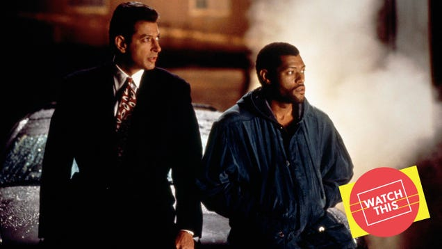 Deep Cover is a smart, over-the-top '90s classic