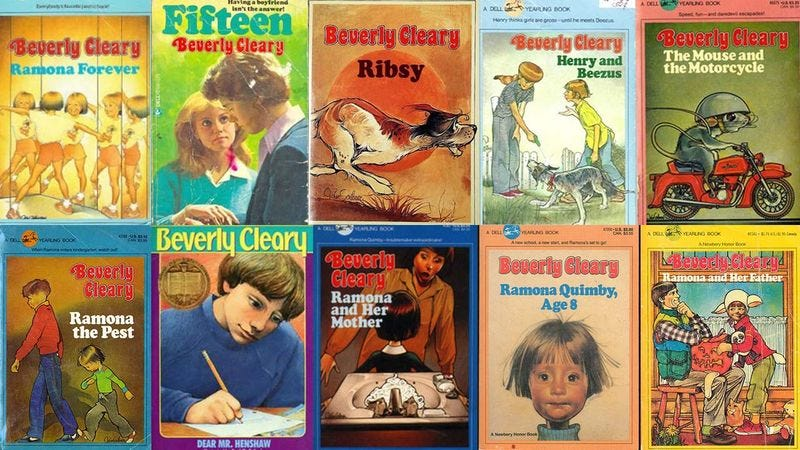 Illustration for article titled How Many Of These Beverly Cleary Books Have You Read?