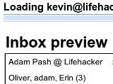Illustration for article titled Gmail Inbox Preview Shows Message Blurbs While Loading