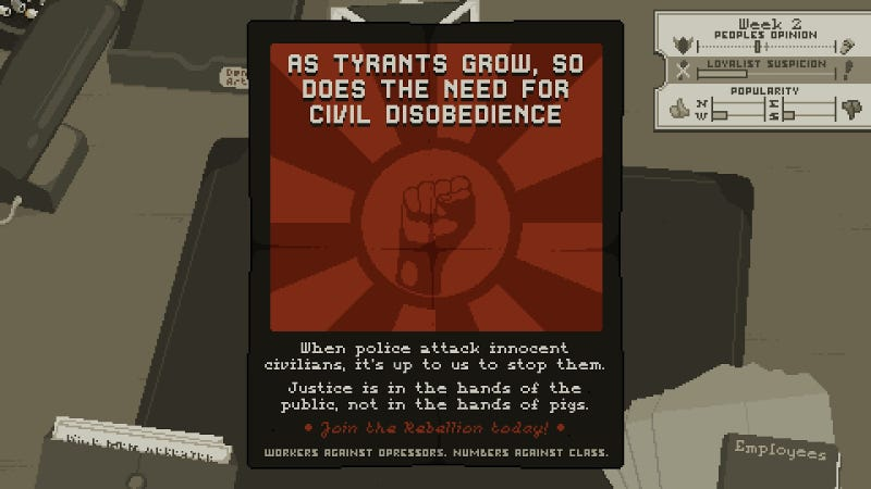 Illustration for article titled Westport Independent Is An Intense Game About Censoring The News