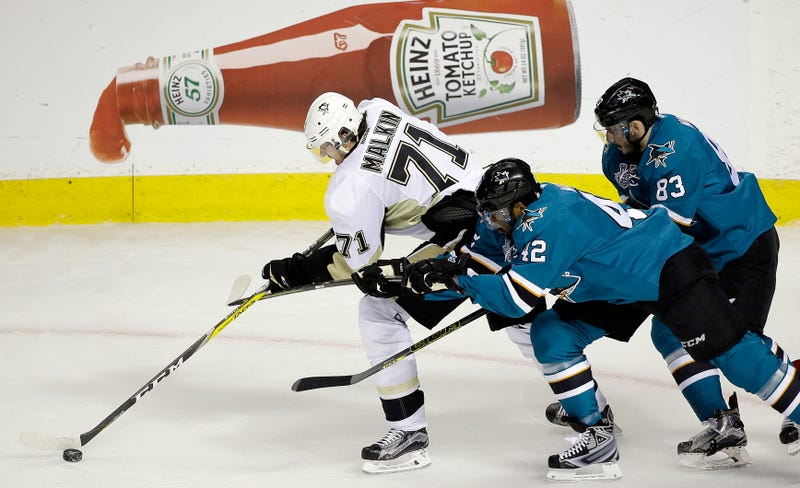 The Sharks have been playing ketchup all series.