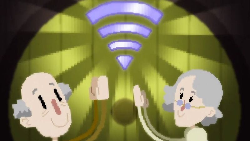 Illustration for article titled H. Jon Benjamin narrates a retro-game-themed adventure in wi-fi troubleshooting
