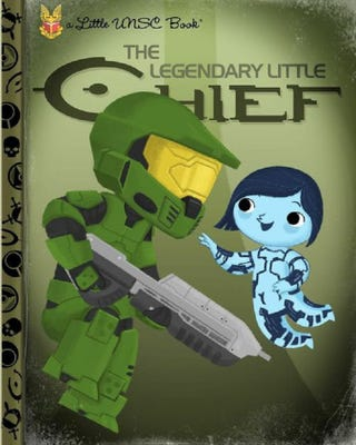 Illustration for article titled Halo As A Little Golden Book