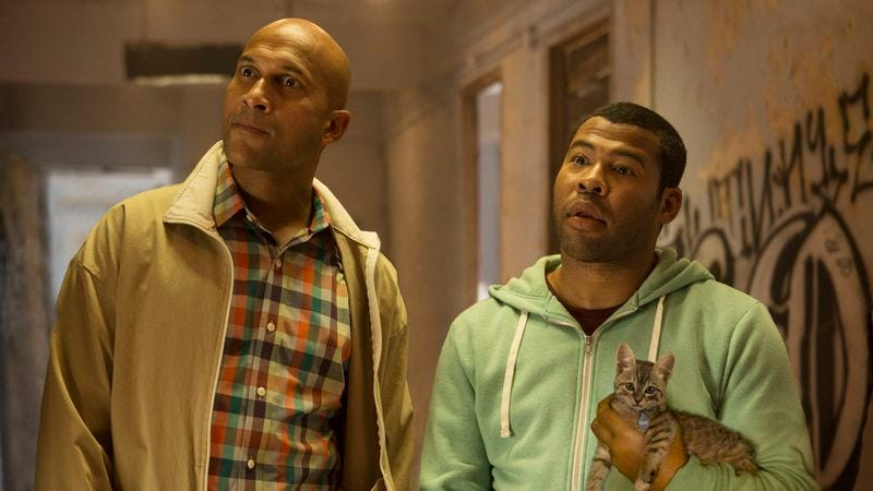 Illustration for article titled Key and Peele are outrageously funny, even when Keanu isn't