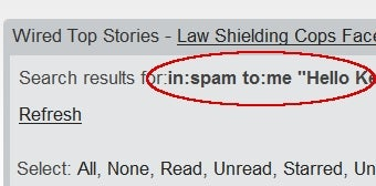 Illustration for article titled Quickly Scan Your Gmail Spam for Missed Messages