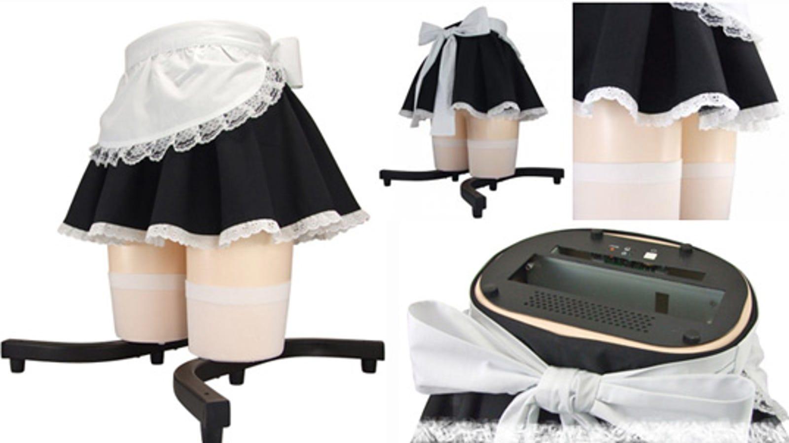 French Maid Skirt Pc Case Is Otaku Heaven