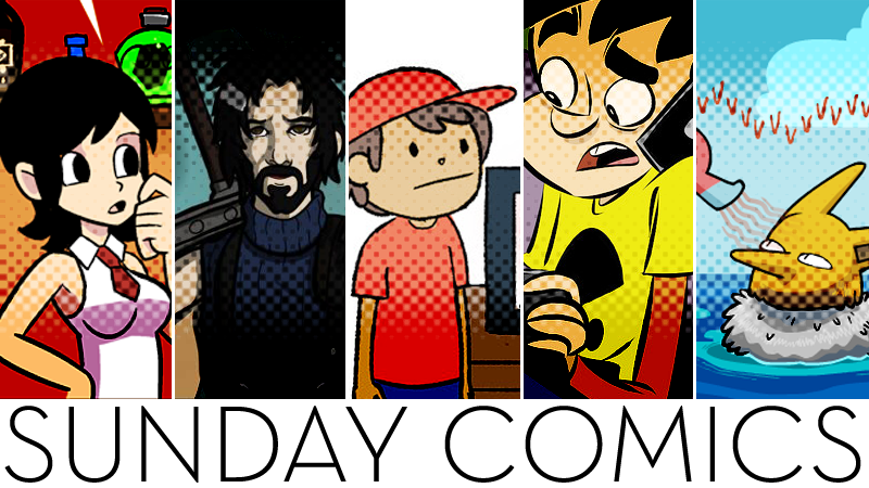 Illustration for article titled Sunday Comics: You Look... Different.