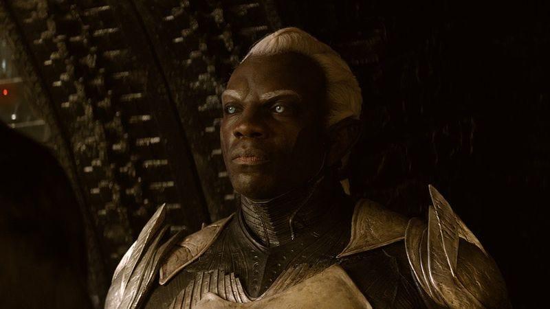 Adewale Akinnuoye-Agbaje as Algrim in Thor: The Dark World
