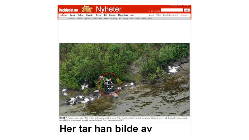 Illustration for article titled Why Did News Helicopters Hit the Norwegian Island Massacre Before Police? (Updated)