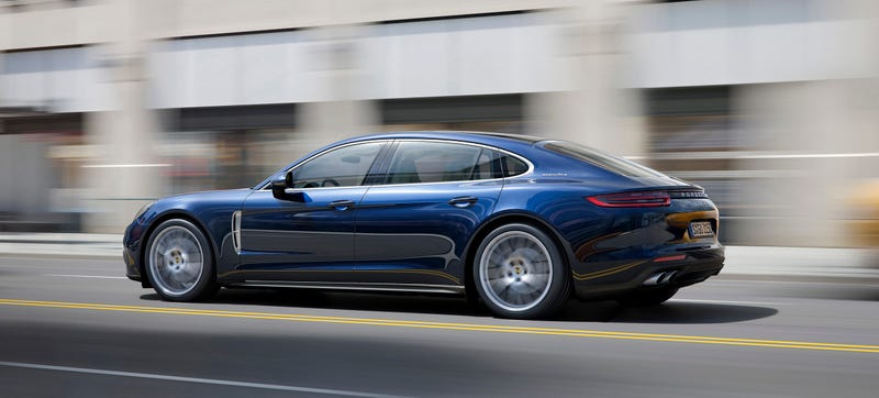 Illustration for article titled The 2018 Porsche Panamera Executive Is A Gloriously Fast Porsche Limo