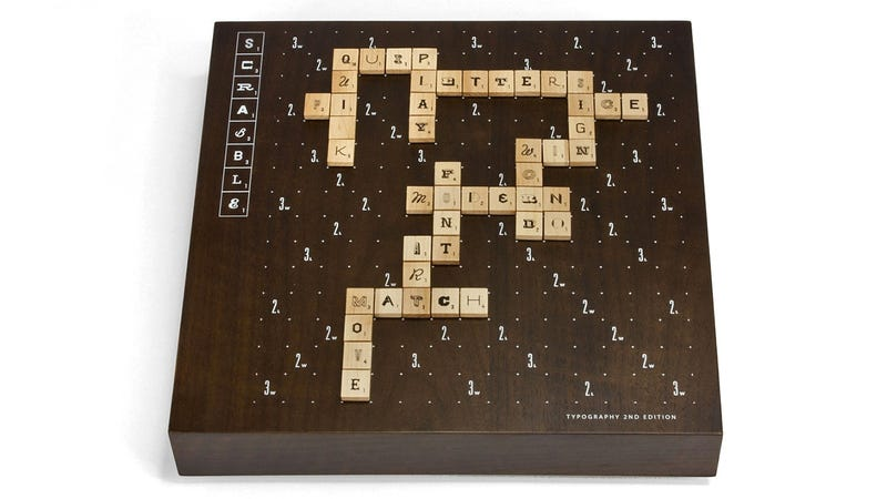 Illustration for article titled The World's Most Beautiful Scrabble Game Is Now Even More Drool-Worthy