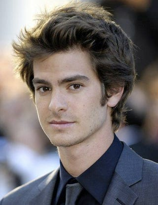 andrew garfield cast as peter parker in the new spider man