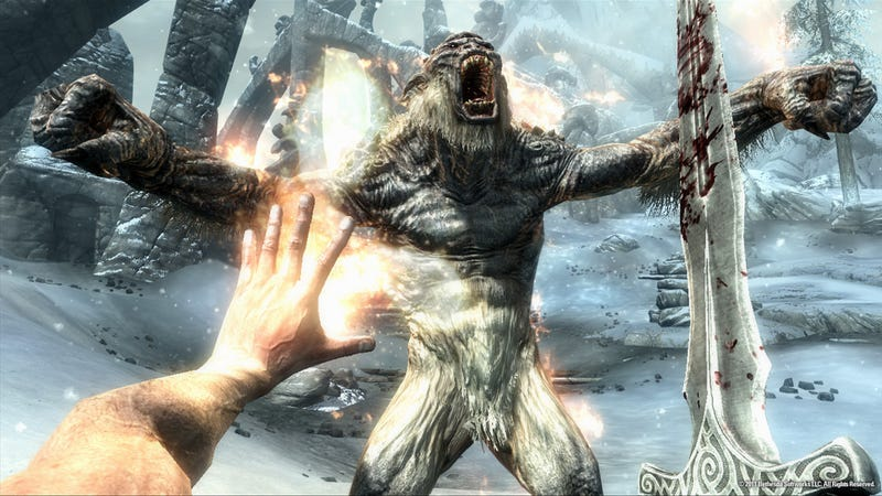 Illustration for article titled Feel The Love In These Elder Scrolls: Skyrim Screens