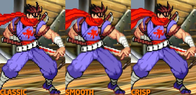 Illustration for article titled Marvel vs Capcom 2, Old Graphics vs New Graphics
