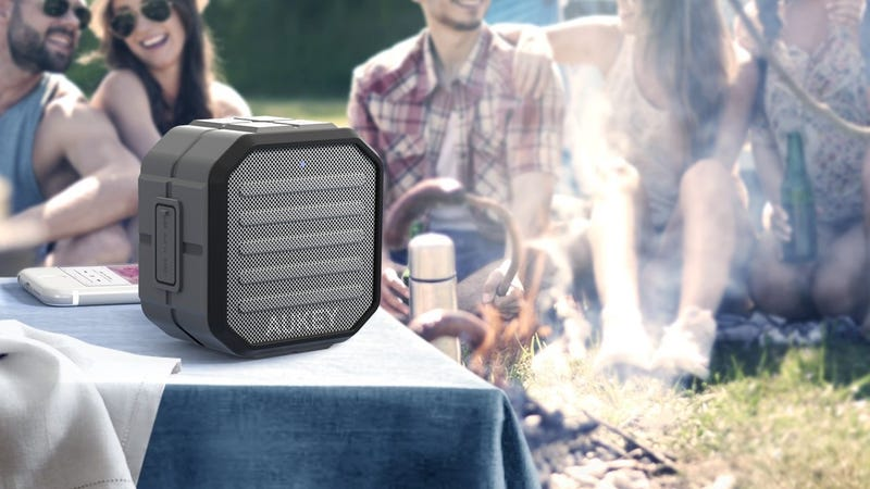Aukey Water Resistant Bluetooth Speaker, $13 with code AUKEYSP4