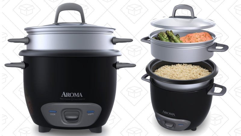 Aroma 6-Cup Rice cooker, $15