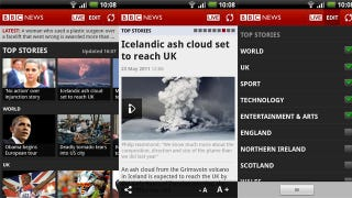 Illustration for article titled BBC News App Now Available For Android