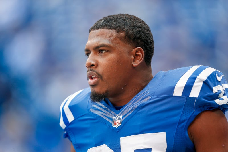 Zurlon Tipton,  No. 37 of the Indianapolis Colts, on Oct. 4, 2015, in IndianapolisMichael Hickey/Getty Images