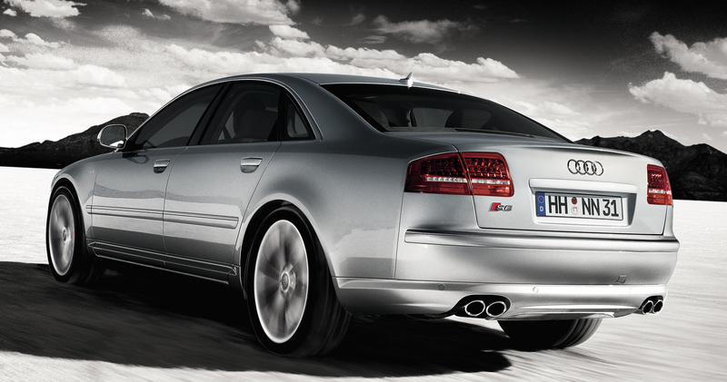 Illustration for article titled You Can Buy A Lamborghini-Powered Audi S8 For The Price Of A Minivan