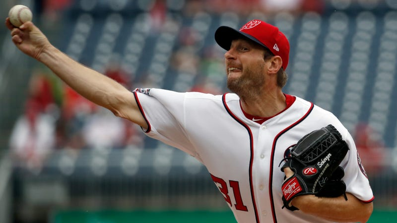 Illustration for article titled Max Scherzer Is A Fire-Breathing Dragon