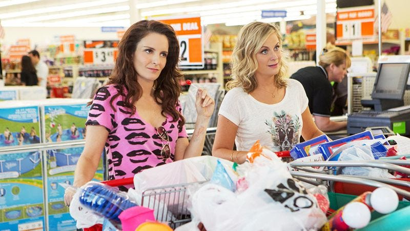 Illustration for article titled Tina Fey and Amy Poehler's chemistry gives Sisters a reason to exist