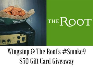 Illustration for article titled Enter @Wingstop and The Root's #Smoke9 $50 Gift Card Giveaway