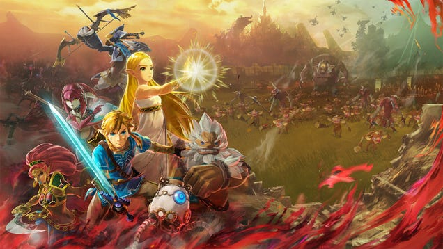New Hyrule Warriors Is A Zelda: Breath Of The Wild Prequel, Arrives In November