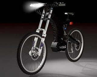 """Illustration for article titled M55 EVO-001 Is The """"Ferrari of Electric Bikes"""""""