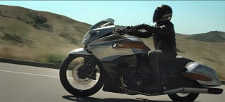 Illustration for article titled BMW Made A Bagger Concept With The Help Of Roland Sands