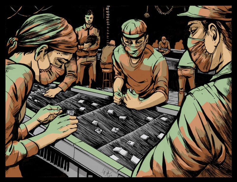 Illustration for article titled An In-Depth Look at the Factory That Makes the iPhone Possible