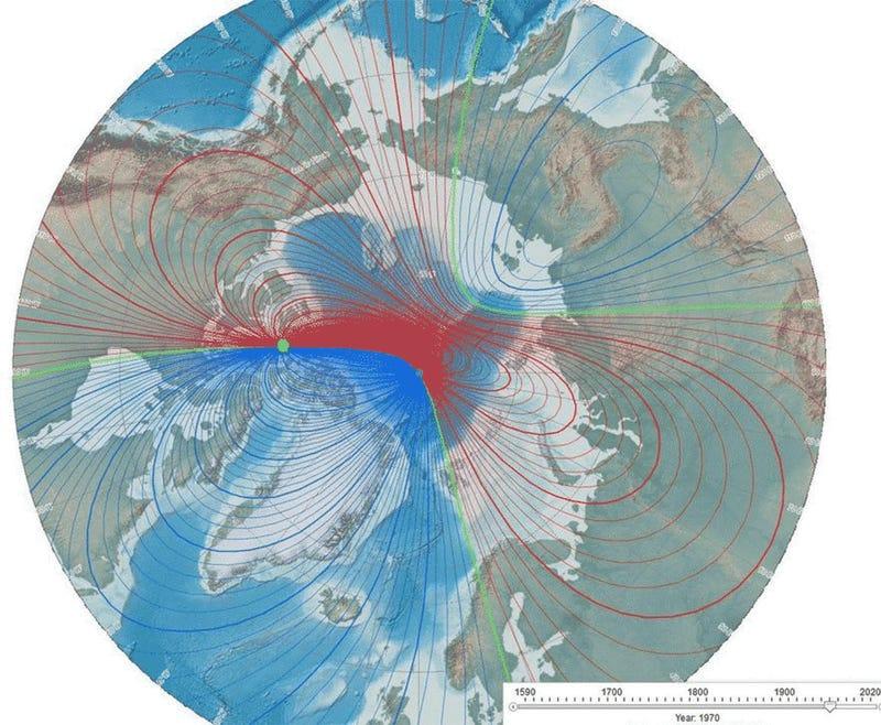 Resultado de imagen de Próxima inversión del magnético en los Polos de la Tierra