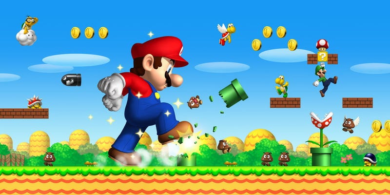 Illustration for article titled Report: Sony Making Super Mario Bros. Movie