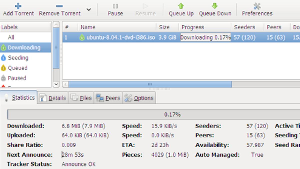 Five Best BitTorrent Applications