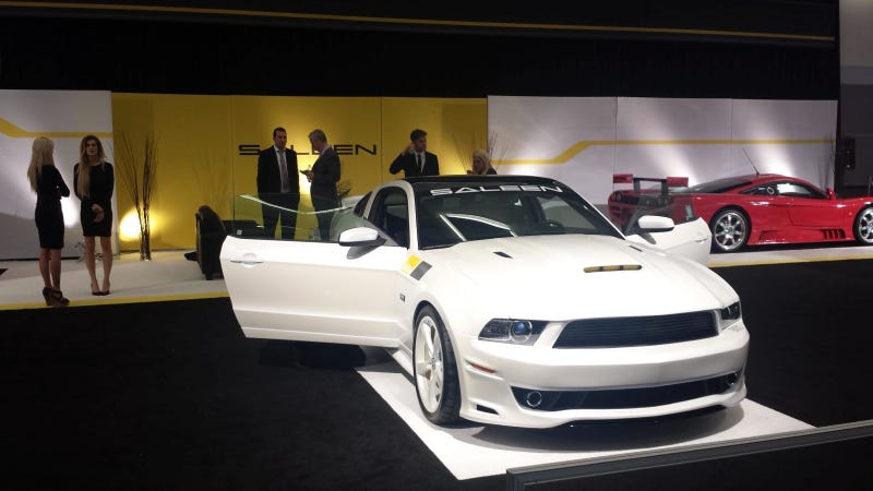 Illustration for article titled Saleen Says It Will Make Electric Car Because Everyone's Making One
