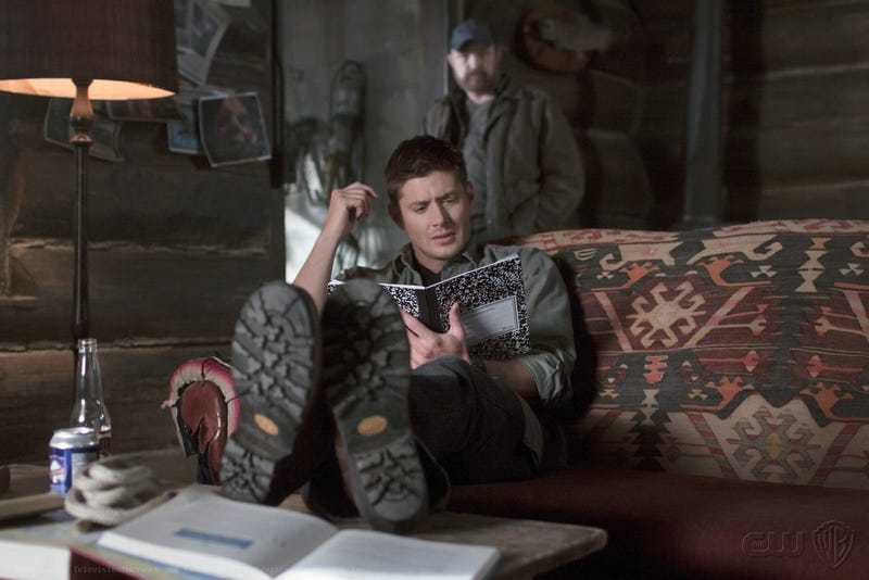 Illustration for article titled Supernatural Episode 7.22 There Will Be Blood Promo Gallery