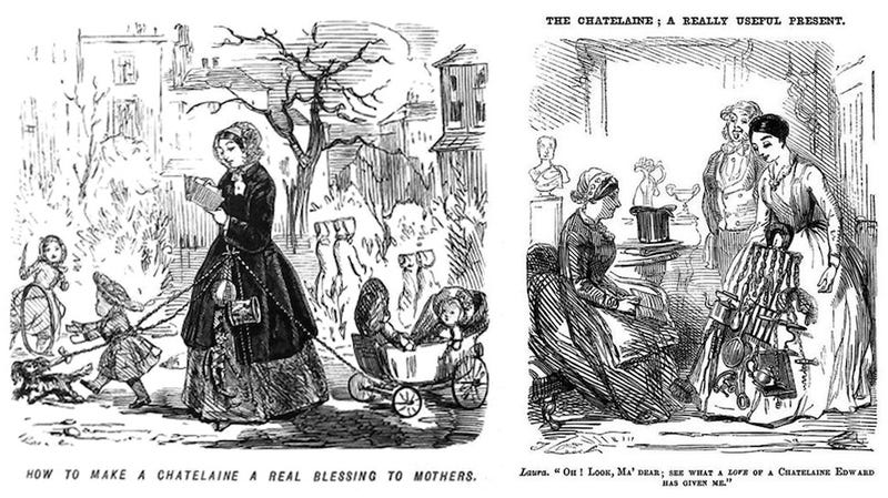 Illustration for article titled Before the Swiss Army Knife, Victorian women wore ornate multitools