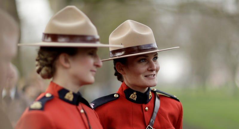 Policía canadiense. AP