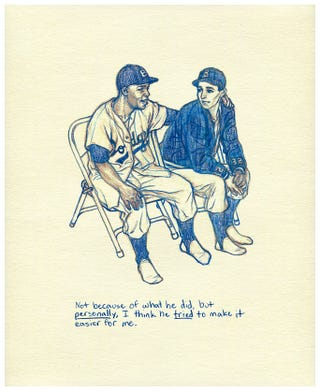 Illustration for article titled Sandy Koufax: Jackie Robinson Tried To Make Things Easier For Me