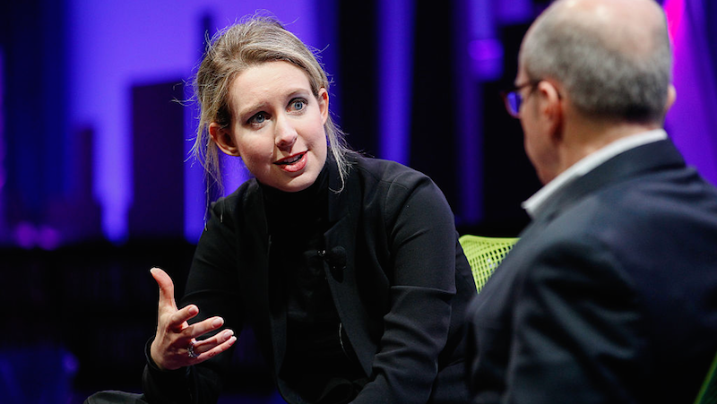 Illustration for article titled Theranos' Elizabeth Holmes Has Been Banned From Running a Lab for Two Years