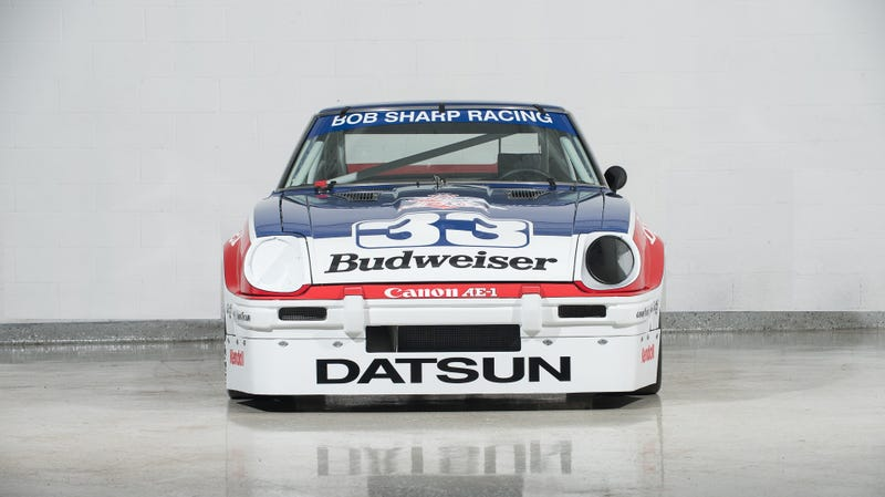 Illustration for article titled Whoever Buys Paul Newman's Championship Winning Datsun 280ZX Should Race It Immediately
