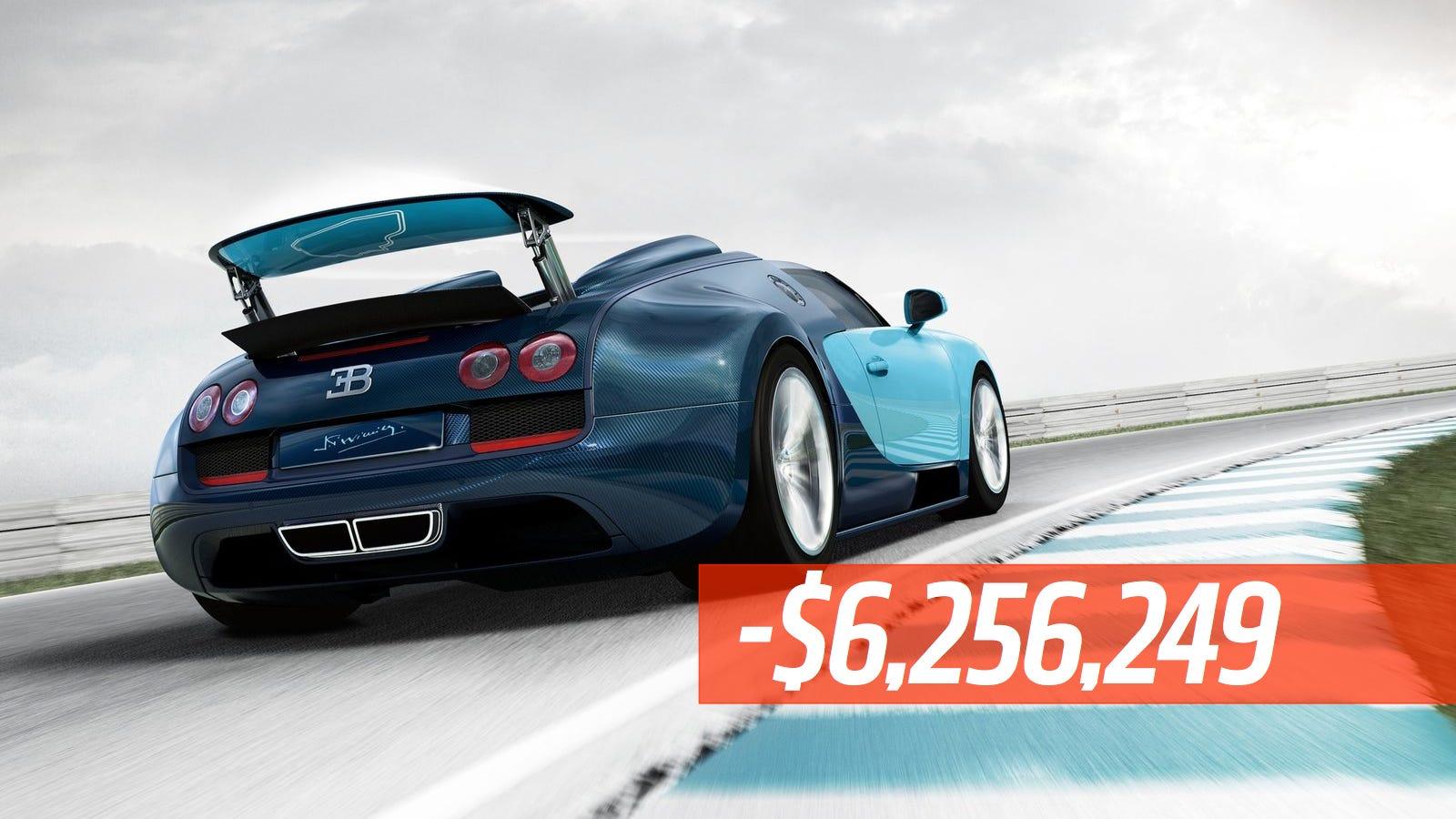 Bugatti bugatti how many made : Volkswagen Loses A Staggering $6.25 Million On Each Bugatti They Sell